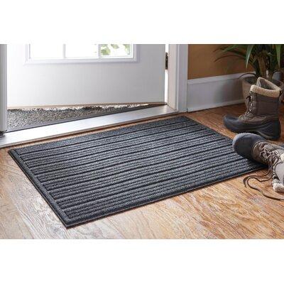 Impressions Doormat Rug Size: 2 x 3, Color: Gray