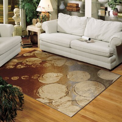 Hendren Brown Area Rug