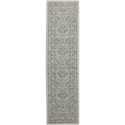 Serenity Augustine Butter Pecan Ornamental Rug Rug Size: Runner 21 x 710