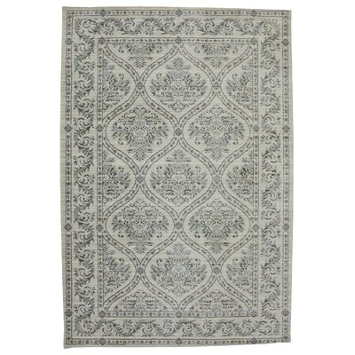 Serenity Augustine Butter Pecan Ornamental Rug Rug Size: 36 x 56