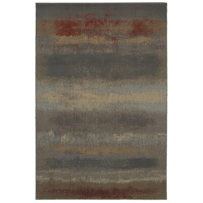 Madison Sand Beige Abstract Rug Rug Size: 36 x 56
