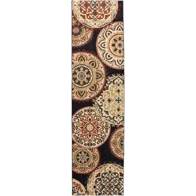 Dryden Summit View Ornamental Rug Rug Size: Runner 21 x 710