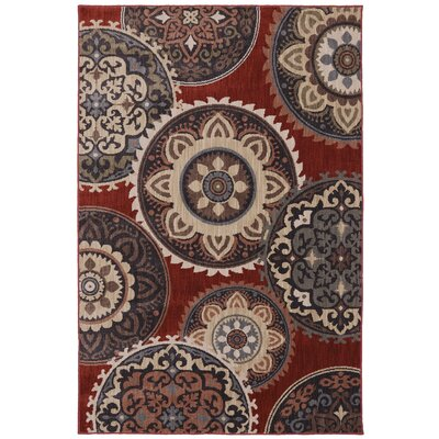 Dryden Summit View Ashen Ornamental Rug Rug Size: 36 x 56