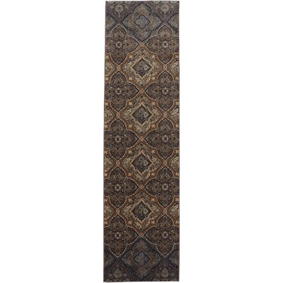 Dryden Tundra Ornamental Tundra Rug Rug Size: Runner 21 x 71