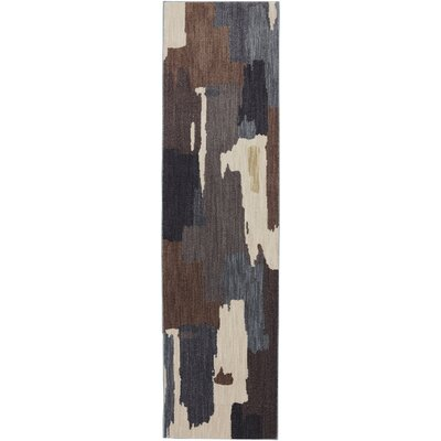 Dryden Flint Abstract Oak Park Rug Rug Size: Runner 21 x 710