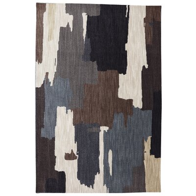 Dryden Flint Abstract Oak Park Rug Rug Size: Rectangle 36 x 56