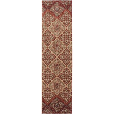 Dryden Mesquite Ornamental Chapel Rug Rug Size: Runner 21 x 710
