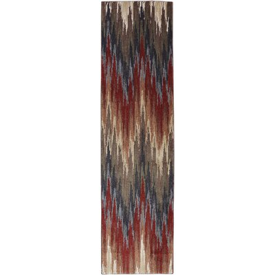 Dryden Mesquite Abstract Big Horn Rug Rug Size: Runner 21 x 71