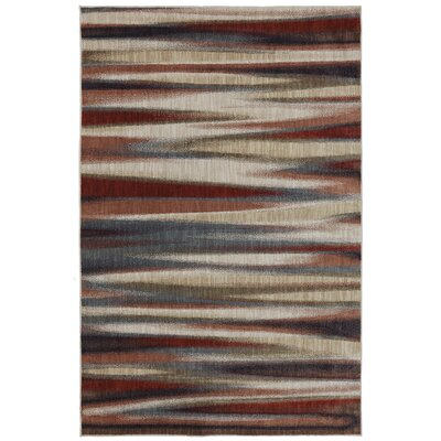 Dryden Muslin Striped Tupper Lake Rug Rug Size: 36 x 56