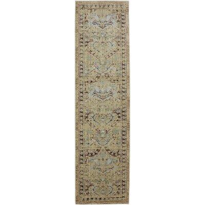 Serenity Cashmere Ornamental Edison Avenue Rug Rug Size: Runner 21 x 710