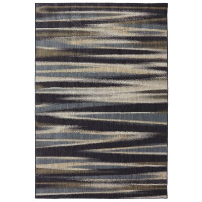 Dryden Ashen Striped Tupper Lake Rug Rug Size: Rectangle 3'6