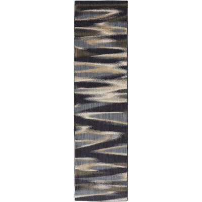 Dryden Ashen Striped Tupper Lake Rug Rug Size: Runner 21 x 710
