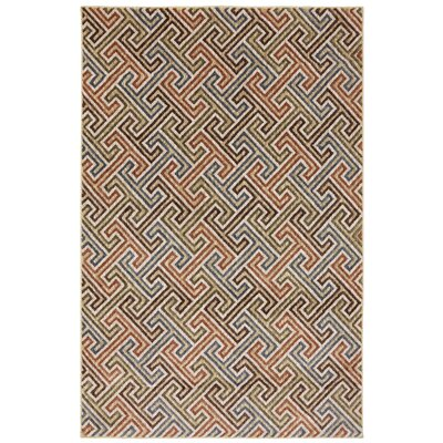 Dryden Muslin Geometric Urban Planner Rug Rug Size: Rectangle 8 x 11