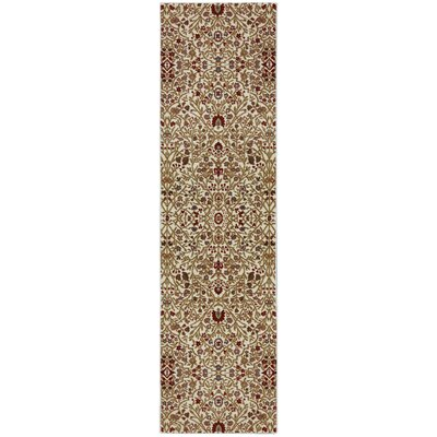 Symphony Western Prairie Ivory Area Rug Rug Size: Runner 21 x 79