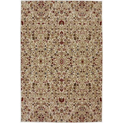 Symphony Western Prairie Ivory Area Rug Rug Size: Rectangle 53 x 79