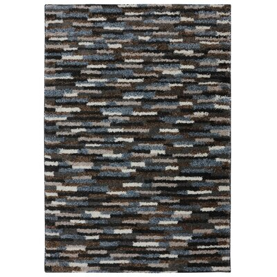 Augusta Mesa Black Area Rug Rug Size: Rectangle 34 x 56
