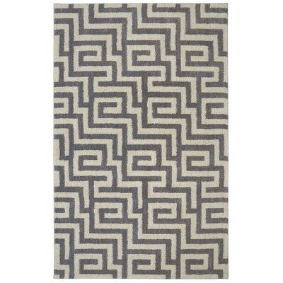 Berkshire American Craftsmen Brewster Grey/Beige Area Rug Rug Size: 10 x 14