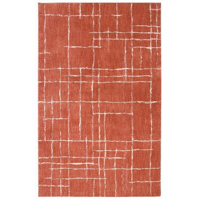 Berkshire American Craftsmen Chatham Coral Area Rug Rug Size: Rectangle 8 x 10