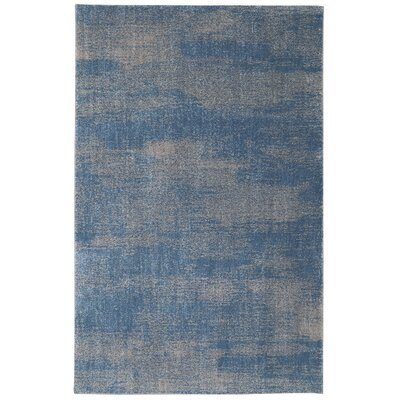 Berkshire American Craftsmen Chilmark Blue Teal/Taupe Gray Area Rug Rug Size: Rectangle 5 x 8