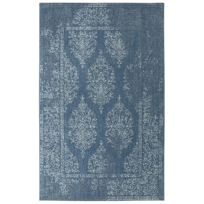 Berkshire Paxton Blue Area Rug Rug Size: Rectangle 5 x 8