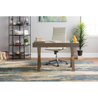 Berkshire Wendall Blue Area Rug Rug Size: Rectangle 10 x 14