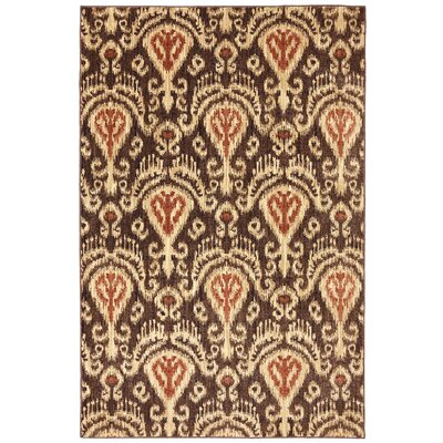 Dryden Latte Ornamental Chandelier Rug Rug Size: Rectangle 8 x 11