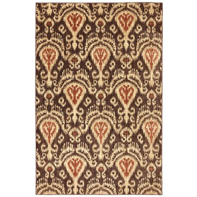 Dryden Latte Ornamental Chandelier Rug Rug Size: Rectangle 36 x 56