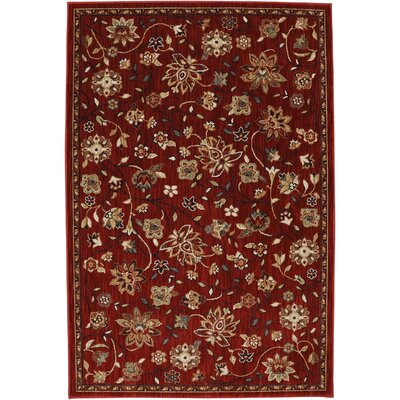 Dryden Emerson Crimson Area Rug Rug Size: Rectangle 8 x 11