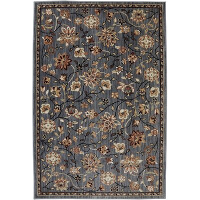 Dryden Emerson Abyss Gray Area Rug Rug Size: Rectangle 53 x 79