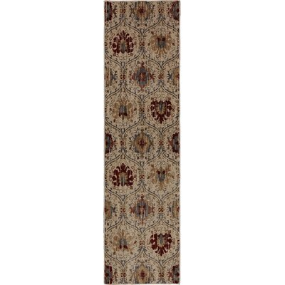Dryden Burlington Light Camel Area Rug Rug Size: Runner 21 x 79