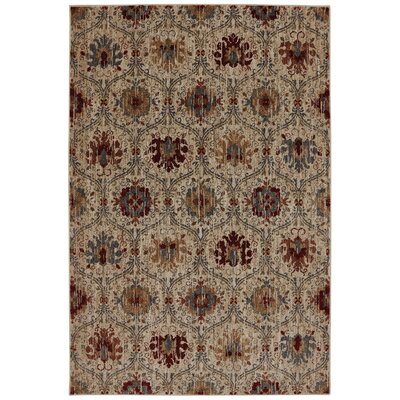 Dryden Burlington Light Camel Area Rug Rug Size: Rectangle 8 x 11