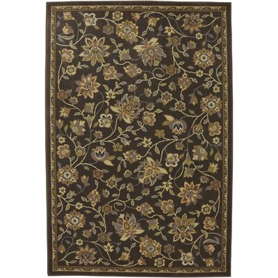 Symphony Cottage Brown and Beige Area Rug Rug Size: 96 x 1210