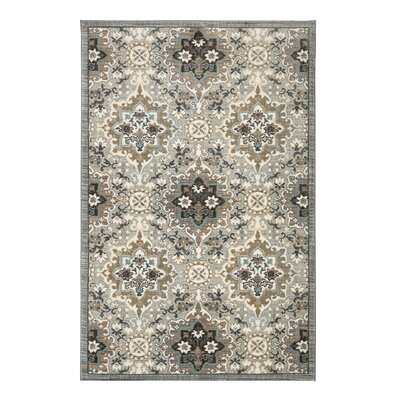 Serenade Gray Area Rug Rug Size: Rectangle 8 x 11