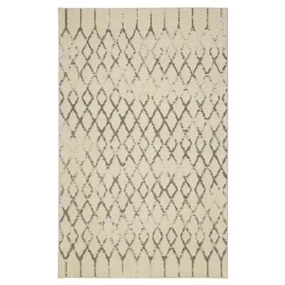 Carlsbad Gray/Beige Area Rug Rug Size: Rectangle 8 x 10