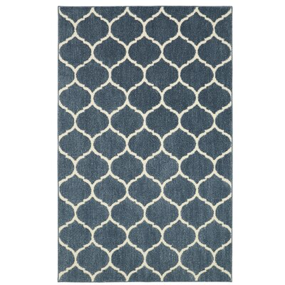 Kalispell Blue Area Rug Rug Size: Rectangle 8 x 10