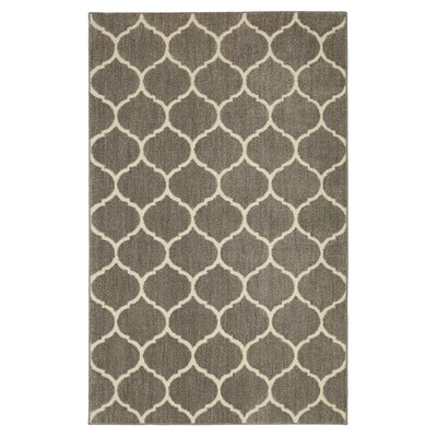 Kalispell Gray Area Rug Rug Size: Rectangle 8 x 10