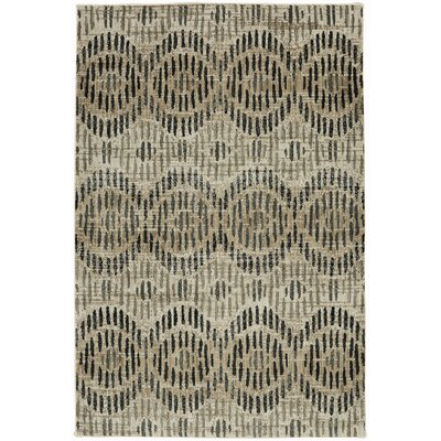 Metropolitan Apollo Beige/Black Area Rug Rug Size: Rectangle 53 x 710