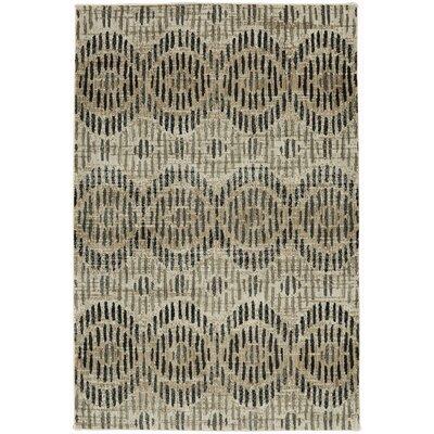 Metropolitan Apollo Beige/Black Area Rug Rug Size: Rectangle 8 x 11