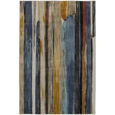 Muse Eureka Admiral Blue Area Rug Rug Size: Rectangle 53 x 710