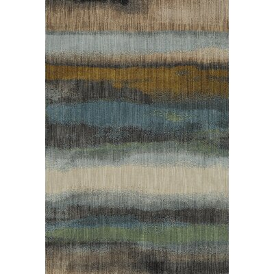 Muse Odin Gunmetal Gray Area Rug Rug Size: Rectangle 96 x 1211
