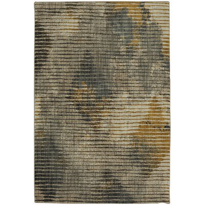 Muse Gunmetal Gray Area Rug Rug Size: Rectangle 5'3