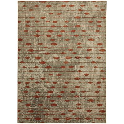Metropolitan Gray Area Rug Rug Size: Rectangle 53 x 710