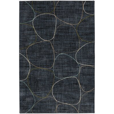 Metropolitan Blue Area Rug Rug Size: Rectangle 53 x 710