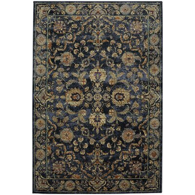 Providence Bickford Blue Area Rug Rug Size: Rectangle 8 x 11