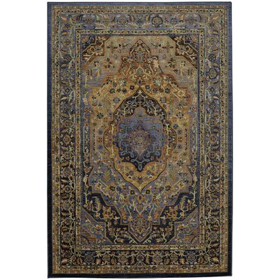 Providence Mosher Blue Area Rug Rug Size: Rectangle 53 x 710