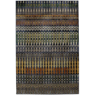 Savannah Columbia Blue Area Rug Rug Size: 8 x 11