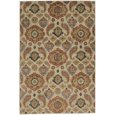 Savannah Orleans Beige Area Rug Rug Size: Rectangle 96 x 1211