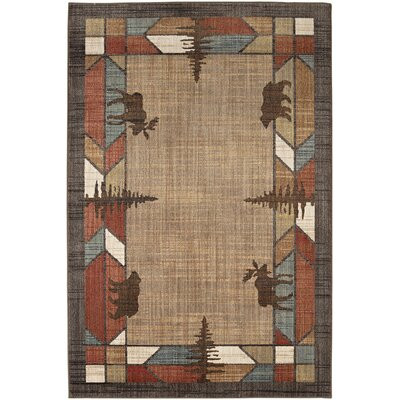 Destinations Butte Multicolor Area Rug Rug Size: Rectangle 53 x 710