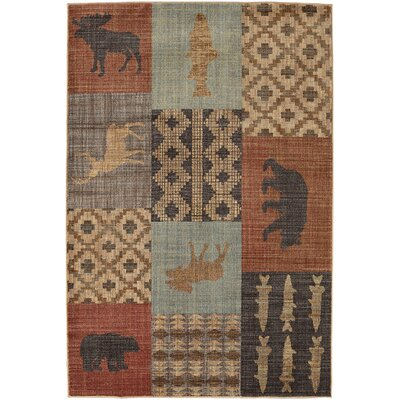 Destinations Nome Multicolor Area Rug Rug Size: Rectangle 5'3