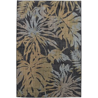 Destinations Destin Onyx Area Rug Rug Size: Rectangle 96 x 1211